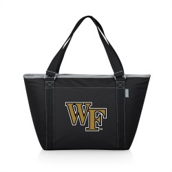WAKE FOREST DEMON DEACONS – TOPANGA COOLER TOTE BAG, (BLACK)