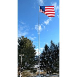 "40 Ft ""Superior Three"" Telescoping Flagpole"