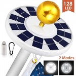 120 LED Solar Lights with 800 lumens and up to 10+ Hours of Light