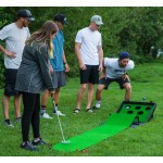 Putter Pong Putting Game with Putter and Golf Mat
